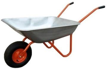 Тачка садовая 1-колёсная. Вес до 120кг/65л