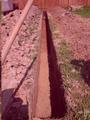 Траншея цена за метр в ручную