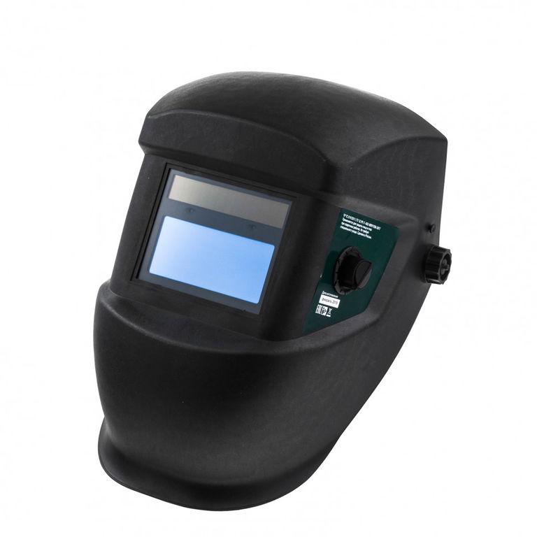 Маска сварщика Защитный щиток лицевой (маска сварщика) с автозатемнением Сибртех Крепика дом крепежных материалов